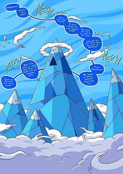 The Ice King Sexual Picture..