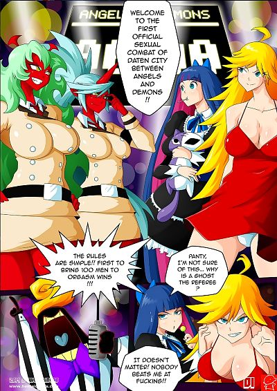 Panty & Stocking Angels vs..