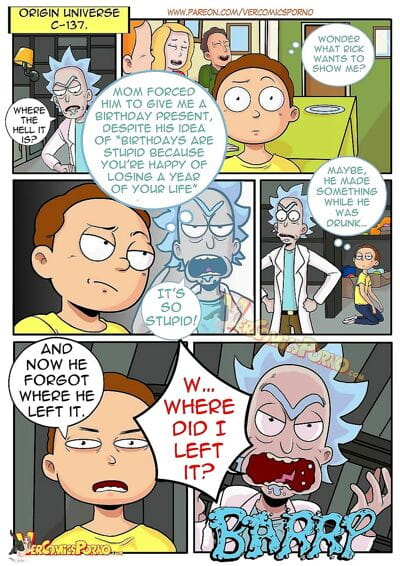 Rick & Morty - Pleasure Trip..